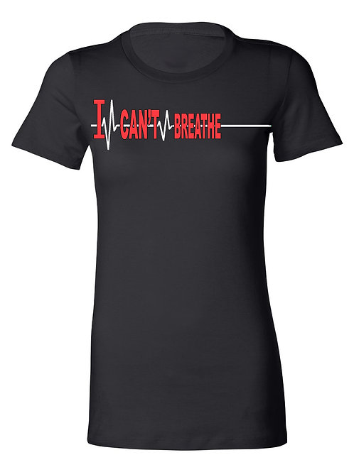 I CAN'T BREATHE....Tribute Tee (red)