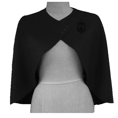 Vintage DST Capelet -Black