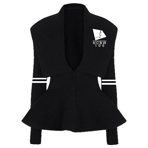 Peplum Varsity Sweater - NCBW