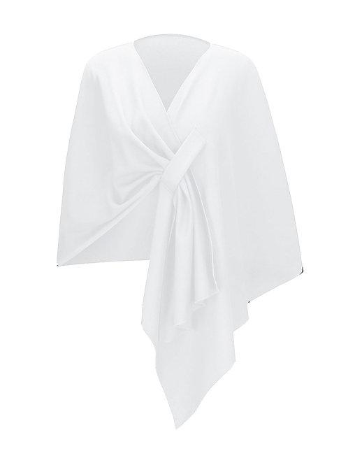Couture White Shawl preorder