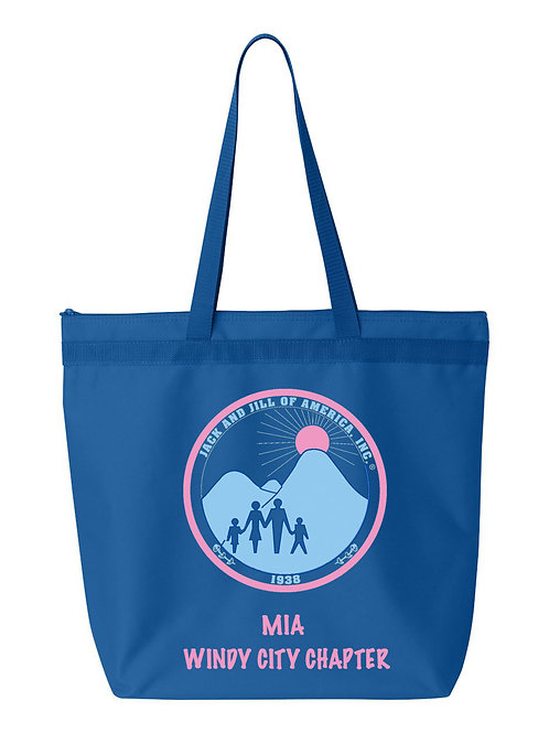 WINDY CITY CHAPTER TOTE BAG-PERSONALIZED