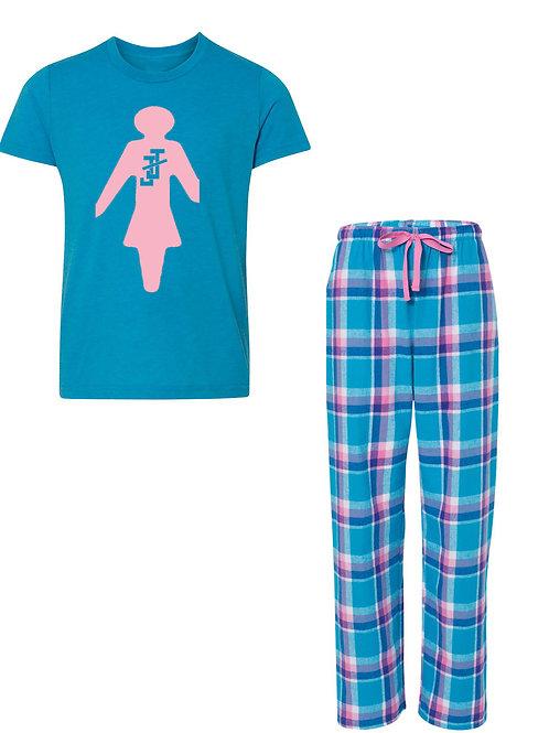 JJ FLANNEL Pajama Set - LADIES
