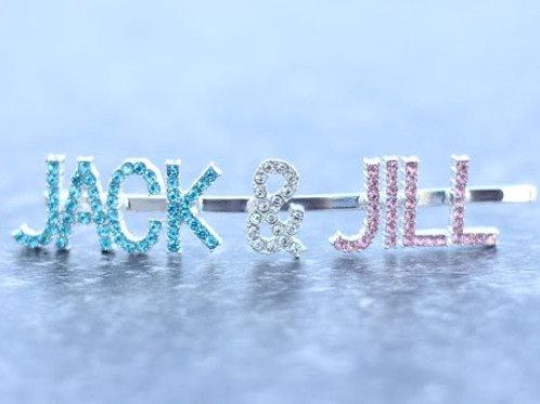 JACK & JILL hairpin