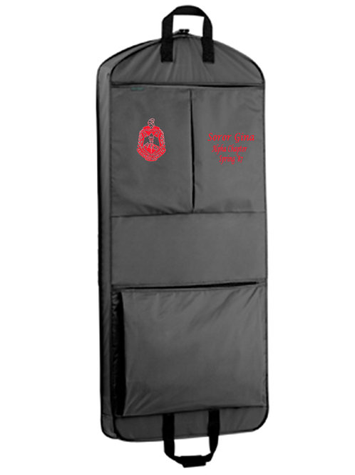 PERSONALIZED GARMENT BAG-DST