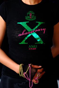 10th AKAversary Tee