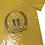 Thumbnail: Golden Soror Sequin Vneck Top