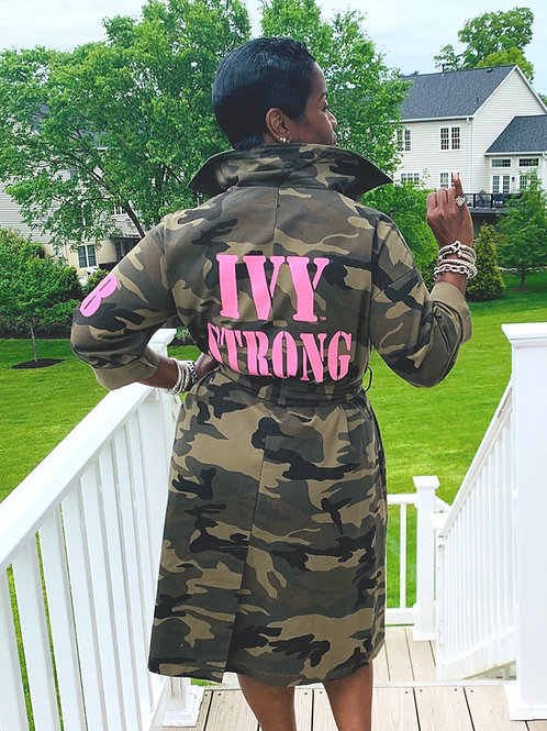 IVY STRONG CAMO TRENCH