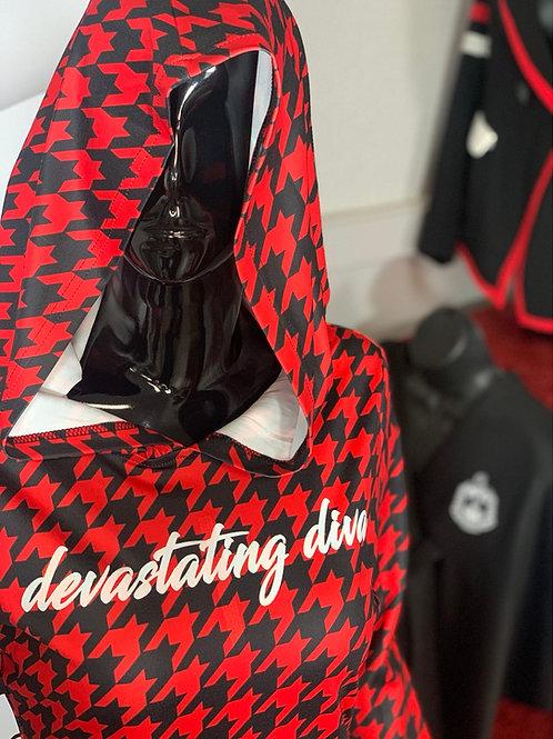Houndstooth Devastating Diva Dress
