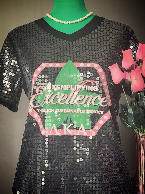 Excellence Sequin Top