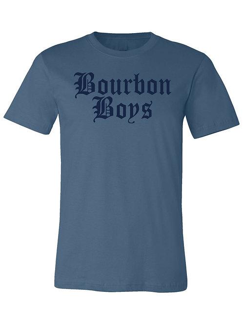 Bourbon Boys TM Tee - Blue