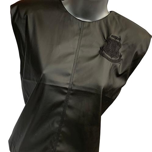 Black Structured PU Leather Top -AKA