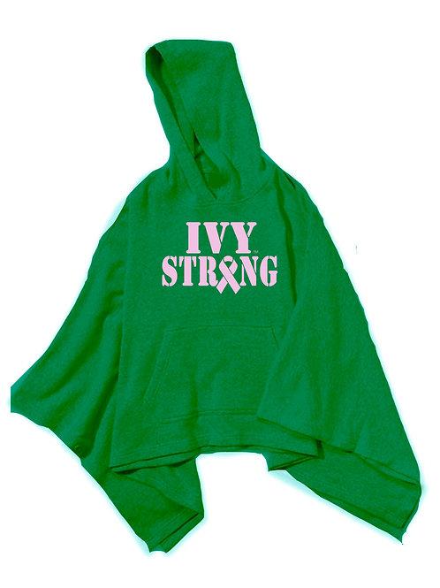 Ivy Strong Ribbon - GREEN PONCHO
