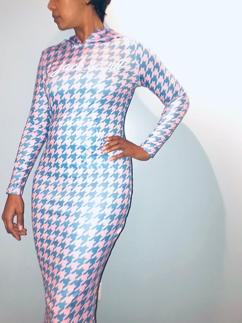 Houndstooth JJ Dress