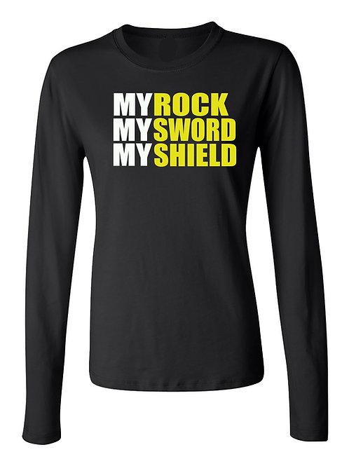 MY ROCK, SWORD, & SHIELD DRI-FIT