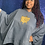Thumbnail: SGRHO CHROME FLEECE PONCHO