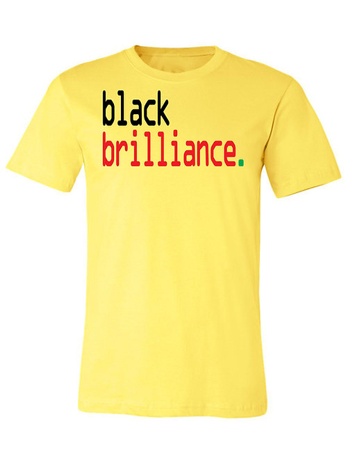 black brilliance tee- Afrocentric - Men's