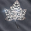 Thumbnail: Luxury Leaf Pin-SILVER