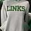 Thumbnail: LINKS Peplum Hoodie -Gray
