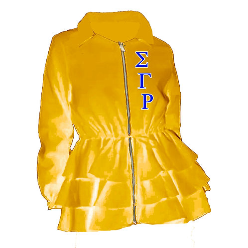 Peplum Line Jacket - ΣΓΡ gold PREORDER