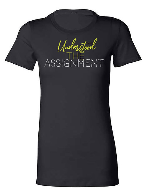 UNDERSTOOD the Assignment-gold PREORDER
