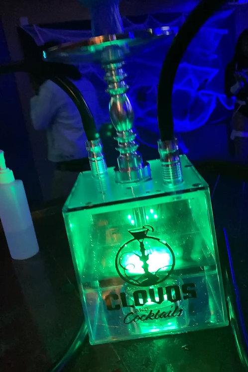 LED 2 Hose Hookah