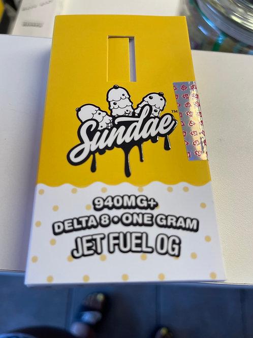 Sundae Delta8 Disposable Vape by Cake