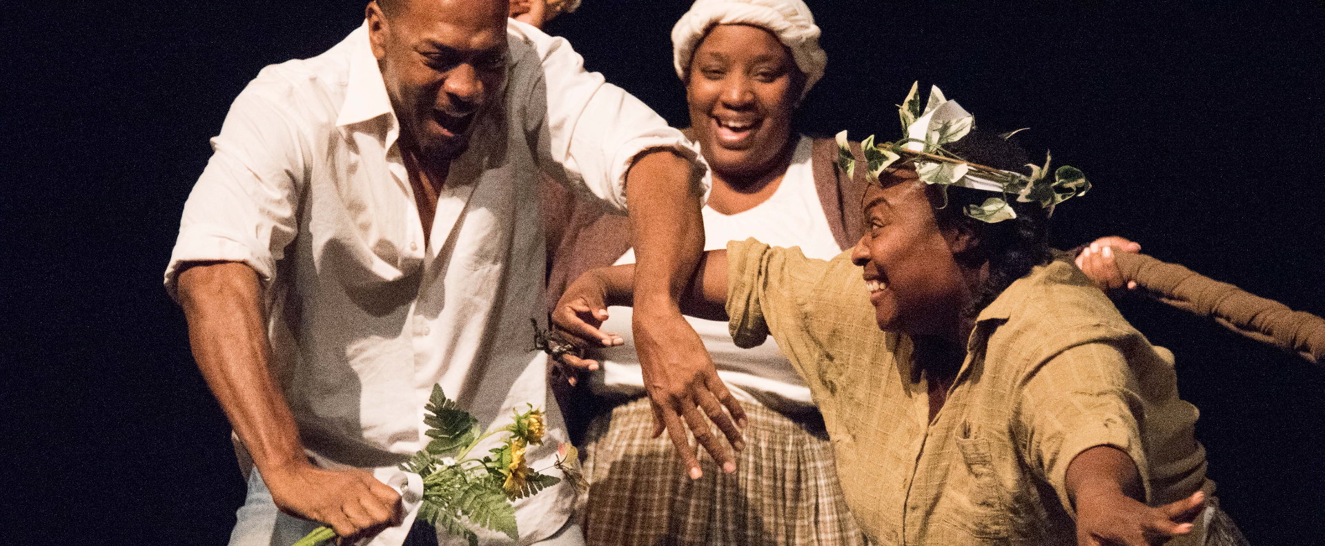 Henry Edwards, Jr, Roenia Thompson and Amber Parker in The Vessel By Which_edite