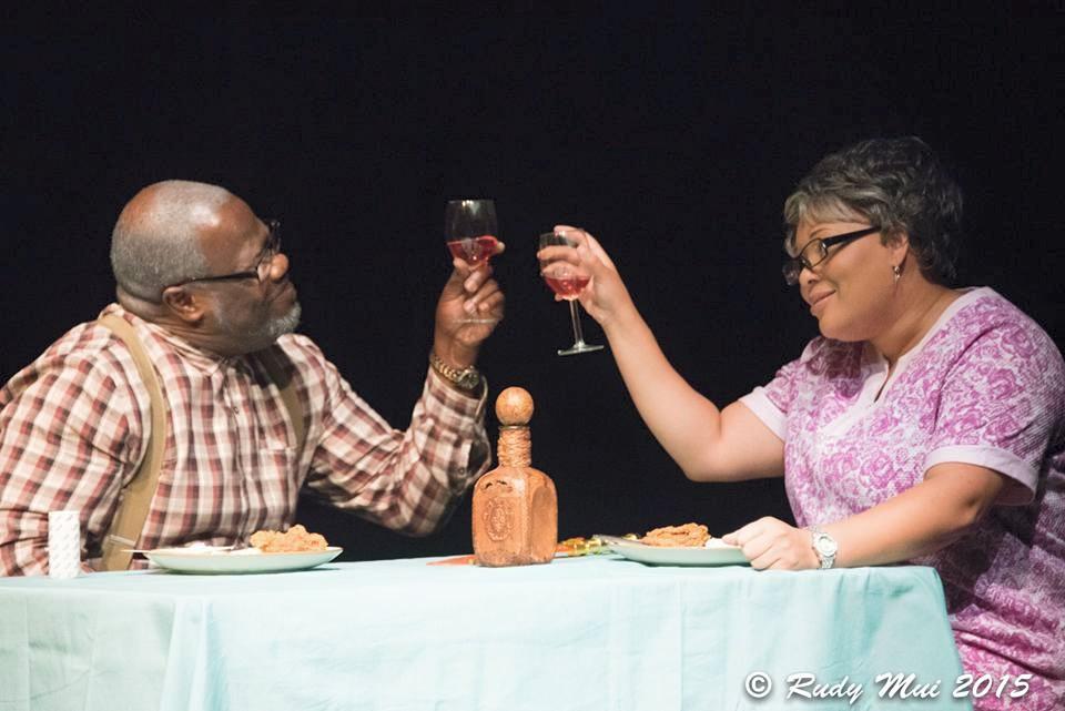 Dave Osbie Shepard & Ms Pinky in Valentine's Day Murder