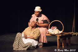 Renette Lucien and Roenia Thompson in The Vessel By Which