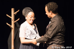Dabrina Sandifer and Anthony August in Driving Miss Crazy