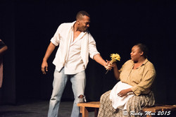 Henry Edwards, Jr and Roenia Thompson in The Vessel By Which