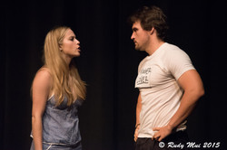 Sussana Morgan Eig and Andrew Runk in In the Still of The Night