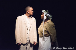 Brandon Morgan and Roenia Thompson in The Vessel By Which