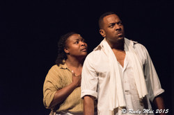 Roenia Thompson and Henry Edwards, Jr in The Vessel By Which