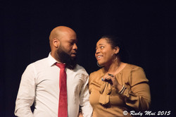 Blandon Thomas and Kimberly Hicks in Unsolicited Material