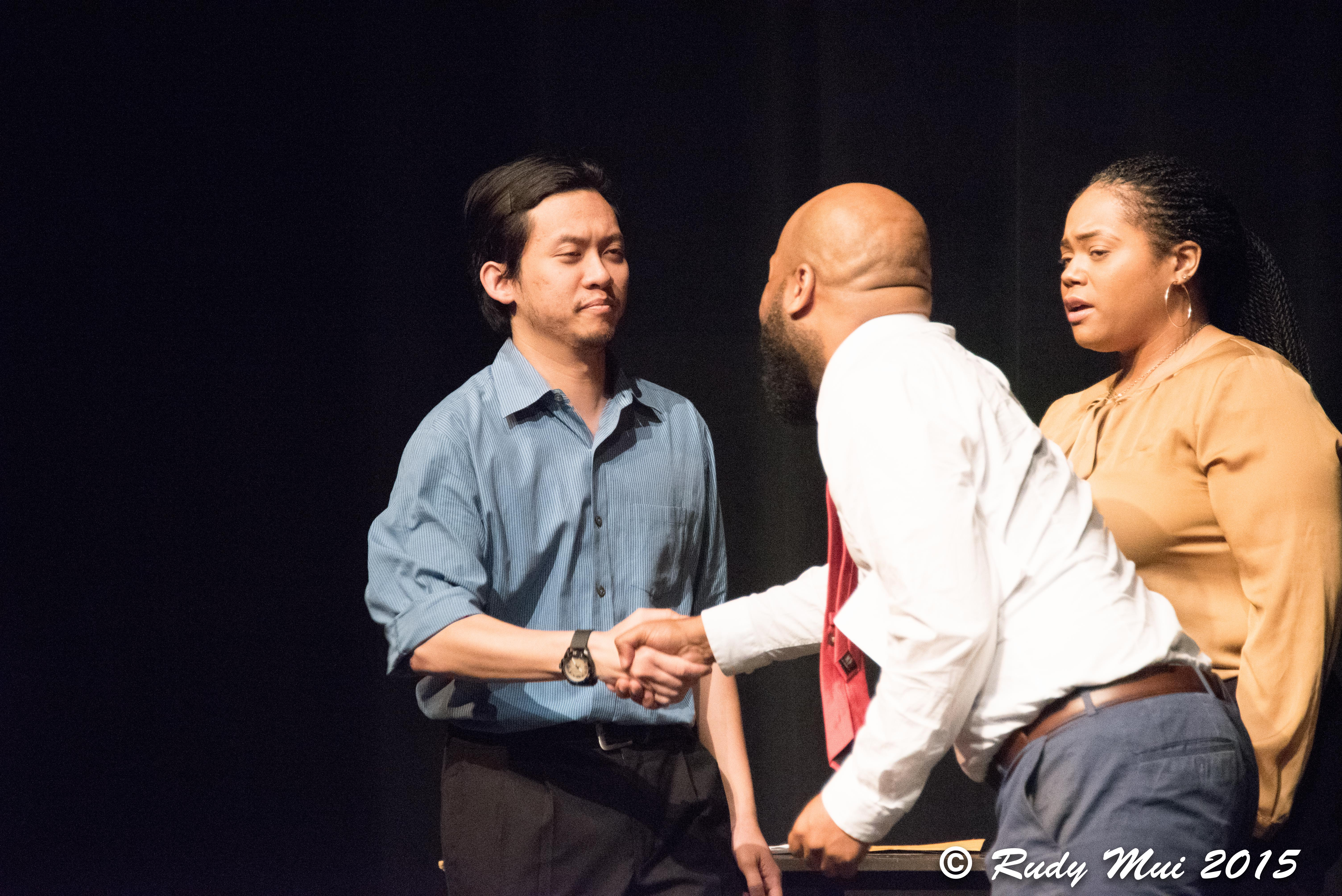 Iggy Nguyen, Blandon Morgan and Kimberly Hicks in Unsolicited Material
