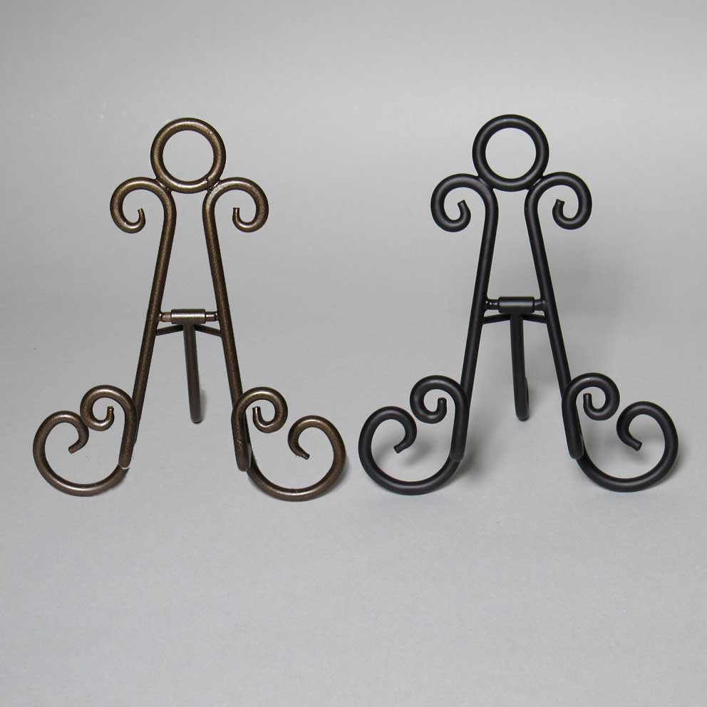Metal Curls Easel