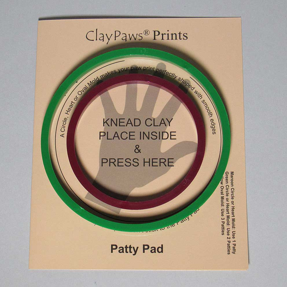 Patty Pad with Circle Molds