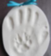 CaringWisdom® | VeterinaryWisdom™ | Hand and Paw Print