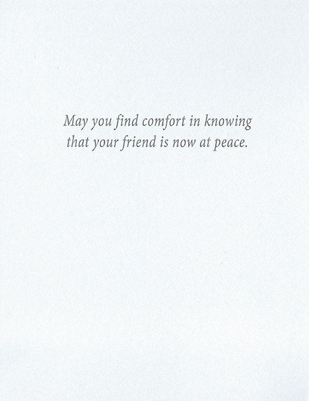 S208 Dog Sympathy Card