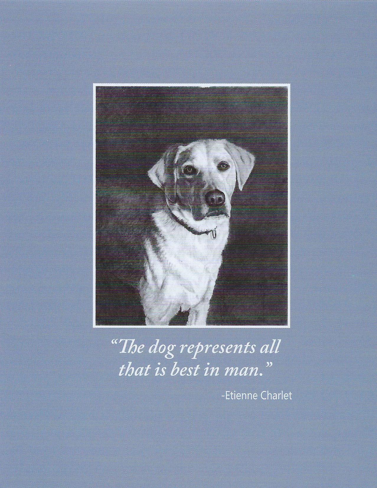 S87 Dog Sympathy Card