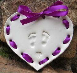Purple Decorative Weaving Ribbon