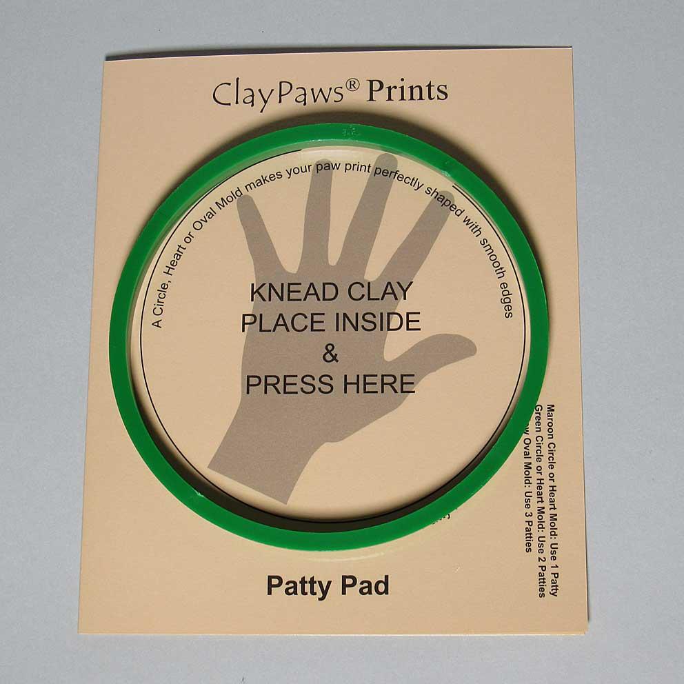 Patty Pad with Lg. Green Circle Mo