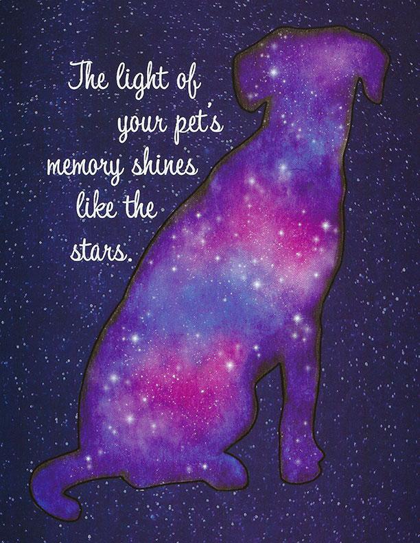 S207 Dog Sympathy Card