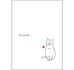CCCSL Premium Cat Sympathy Card