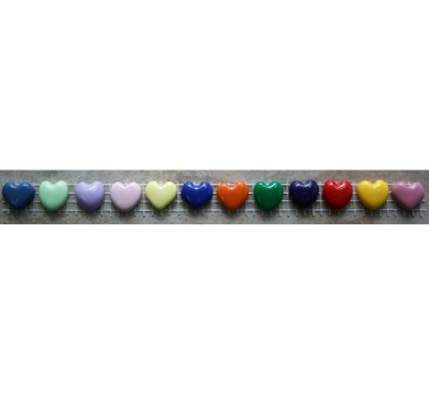 Small Assorted Heart Charms