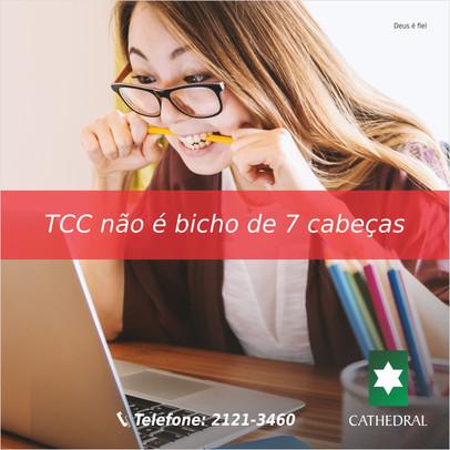 """Professor faz palestra sobre: """"TCC não é bicho de sete cabeças"""""""