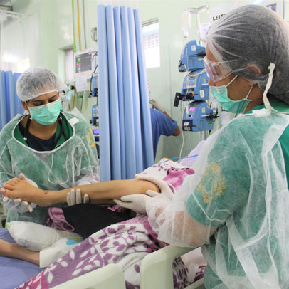 CATHEDRAL - Acadêmicos de Fisioterapia fazem estágio no Hospital Geral de Roraima
