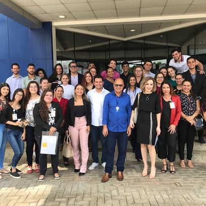 Estudantes de Direito fazem visita técnica à Sede do Fórum Criminal