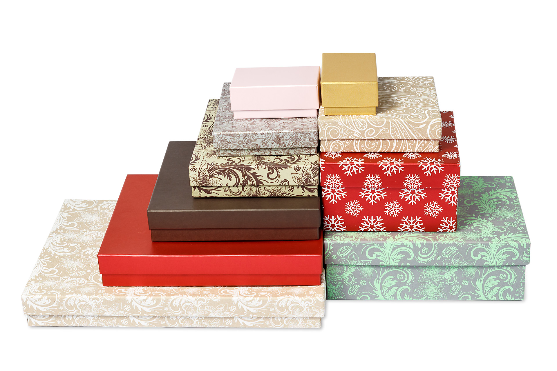 Плоские коробки